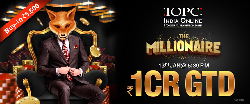 IOPC The Millionaire Poker Tournament