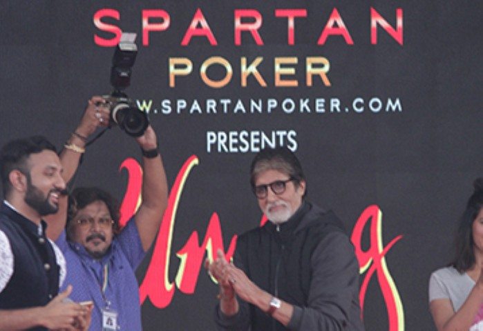 The Spartan Poker in College Campus