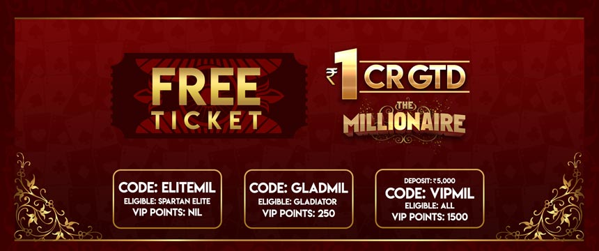 Free Entry to The Millionaire